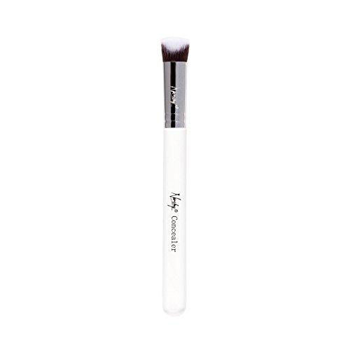 Nanshy Concealer, 3D-Make-up-Pinsel, präzise geformt, Perlglanz-Weiß