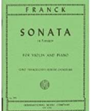 cesar franck violin sonata sheet music
