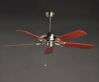 El Objeto del Mundo Ventilador Techo 3 velocidades con luz, Fácil de Montar: Amazon.es: Hogar