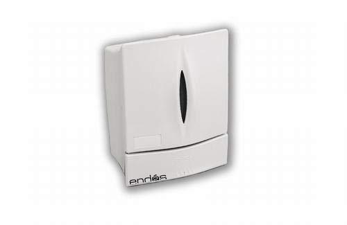 Dicaproduct Dispensador de jabón Blanco Élite 0.8 litros 20,1 x 15,5 x 11,5 cm