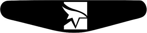 Decus-Shop Play Station PS4 Lightbar Sticker Aufkleber Mirrors Edge (schwarz)