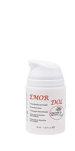 EmorDol – Creme gegen Hämorrhoiden – 30 ml – Schützende, erfrischende und lindernde Wirkung durch natürliche Extrakte aus Strohblume, Efeu und Passionsblume