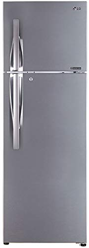 LG 360 L 3 Star Inverter Linear Frost-Free Double Door Refrigerator (GL-T402JPZ3, Shiny Steel, ConvertiblePLUS with Door Cooling+)