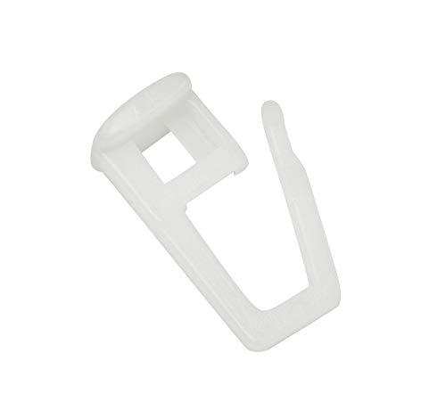 Gardinia Faltengleiter, Kunststoff, weiß, 0.1, 30