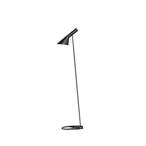 Louis Poulsen AJ Terra Lampe E27 klassisch Stehlampe von Arne Jacobsen - Schwarz