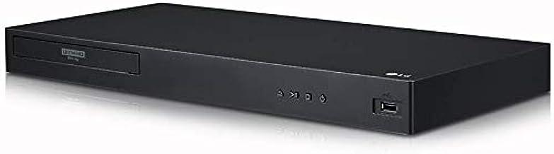 LG 4K Region Free Smart WiFi UHD 4K Ultra HD Blu-ray & DVD Player Multi Region 3D Dolby Vision HDR & 6Ft Dynastar HDMI Cab...