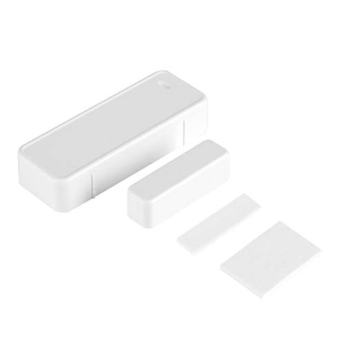 GLOGLOW Magnetischer Detektor-Schalter, 433MHz Tür-magnetischer Kontakt-drahtloser Sensor-Detektor-Schalter für Hauptgaragen-Alarm-Sicherheit