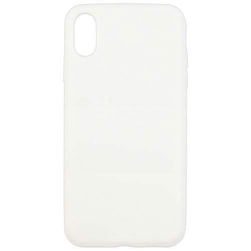 グルマンディーズ iPhone X Max 6.5インチ用 シリコンプロテクションケース