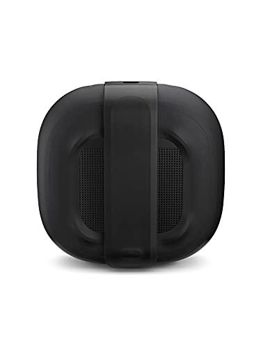 bose soundlink micro: small portable bluetooth speaker (waterproof), black