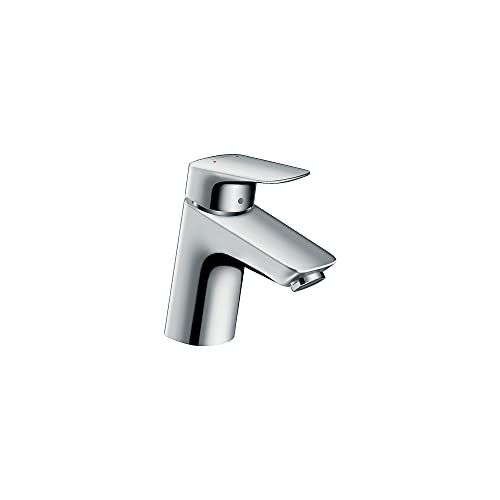 hansgrohe Logis Modern Low Flow Water Saving 1-Handle 1 5-inch Tall Bathroom Sink Faucet in Chrome, 71070001