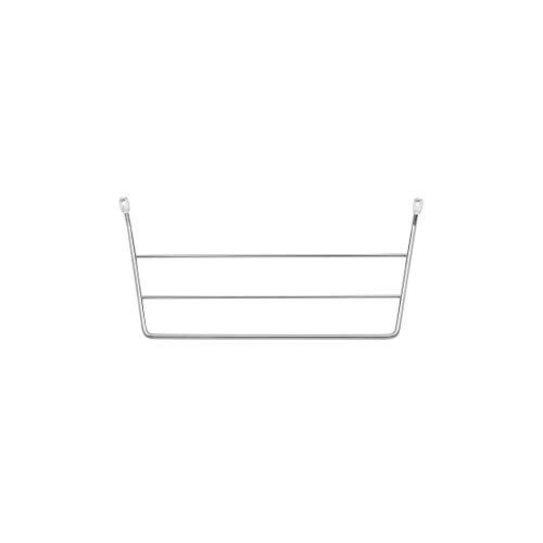 Rev A Shelf 563-32 C Kitchen Bathroom Vanity Cabinet Door Mount Dish Towel Bar Holder, Chrome Wire