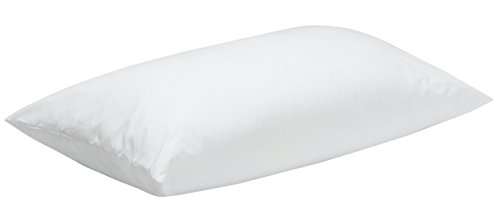 Pikolin Home - Almohada de fibra para bebé, antiácaros, funda 100% algodón, firmeza media, 30x50cm, altura 8cm (Todas las medidas)
