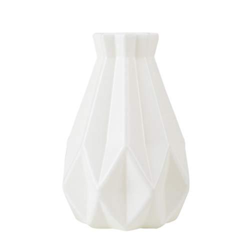 PowerBH Hause Kreative Origami Styling Dekorative Vase Einzigartige Simulation Blumenschmuck Container Desktop Dekoration Handwerk