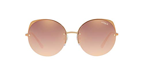 Vogue 0vo4081s 50756f 55 Montures de lunettes, Or (Light Pink Gold), Femme