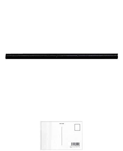 トンボ鉛筆 Tombow マーキングホルダ-替芯 黒 C-10DM33 工業用マーカー + 画材屋ドットコム ポストカードA