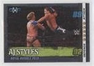 AJ Styles (Trading Card) 2017 Topps WWE Slam Attax 10th Edition - [Base] #49