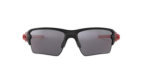 Oakley Flak 2.0 XL Gafas de Sol, polarizado, Multicolor (Ruby Fade w/PRIZM Black Pol), 59 para Hombre