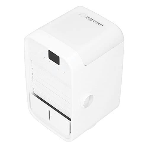 Xirfuni Ventilador de Aire Acondicionado, Enfriador de Aire de sincronización automática de Carga USB para Oficina para hogar para Dormitorio