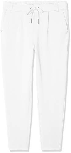 ONLY Damen onlPOPTRASH Easy Colour Pant PNT NOOS Hose, Braun (Desert Taupe), 40/L34 (Herstellergröße: L)