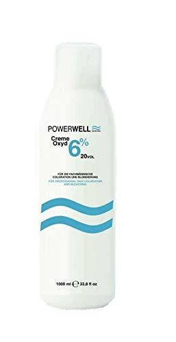 Powerwell Creme Oxyd 6% 20Vol, 1000 ml