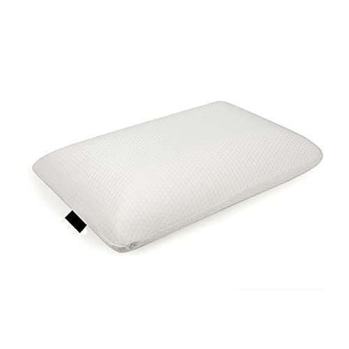 Bdesign Almohada de Espuma de Memoria - Q Bullet Pillow Memory Almohada de Espuma - Almohadas cómodas para Dormir: Reduce el Dolor de Cuello y los ronquidos, Blanco (Size : Pack of 1)