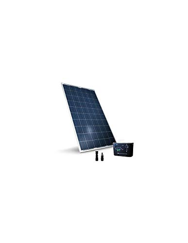 Kit solar base 285 W 24 V panel fotovoltaico regulador 10 A PWM