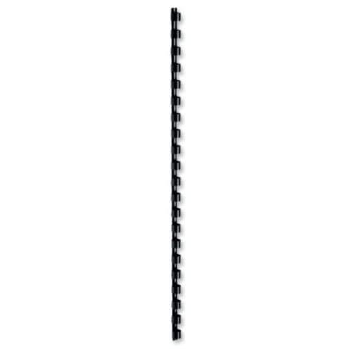 Fellowes 6200501 - Accesorio para encuadernado, 100 unidades, 10 mm, color negro