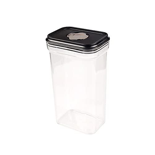 xu Caja de Almacenamiento de Tanque de Almacenamiento de Grano Entero Caja de Almacenamiento de Grado alimenticio Caja sellada de plástico de Cocina con Tapa