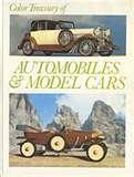 Hardcover Color Treasury of Automobiles & Model Cars Book