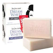 Kojie San Dream White Anti-Aging Soap Twin Pack (135g x 2)