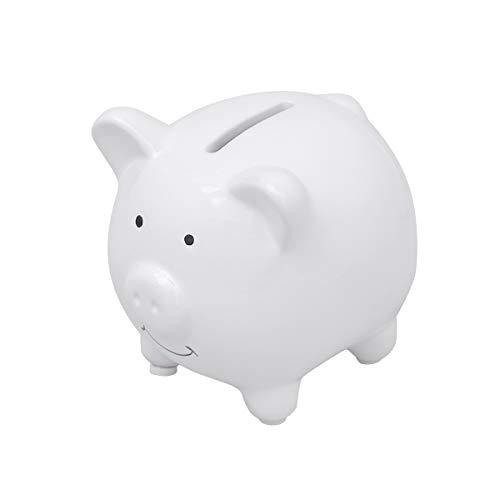 vorcool Keramik-Sparschwein Cute Geld Münze Bank für Mädchen oder Jungen