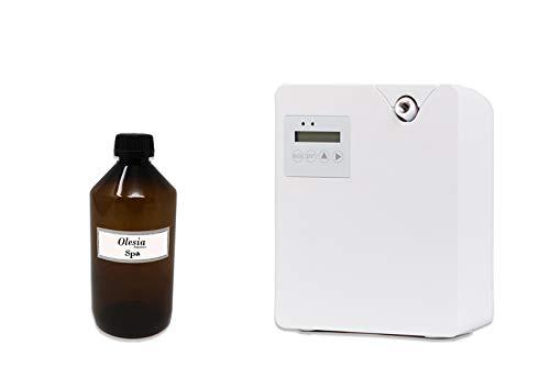 Difusores de fragancias y ambientador profesional Weele para 100 mq + 500ml perfume (Madera de...