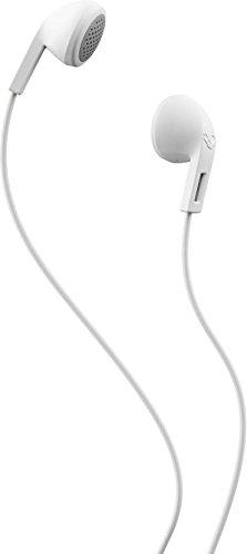 Skullcandy Rail S2LEZ-J568 In-Ear Wired Earphones Without Mic (White/Gray)