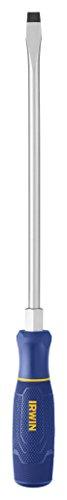 IRWIN TorqueZone Slotted Screwdriver, Keystone, 3/8