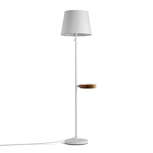 NIUZIMU vloerlamp woonkamer slaapkamer balkon oogbeschermingslamp stof lampafdekking draadloos opladen salontafel rek modern minimalistisch -33