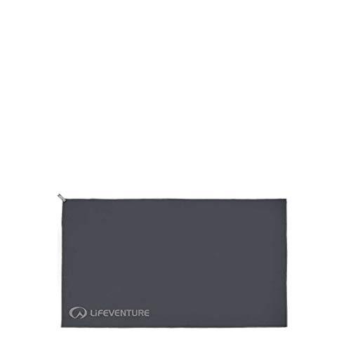 Lifeventure Unisex's HydroFibre Trek Handdoek - Grote (Grijze) Compact Sport