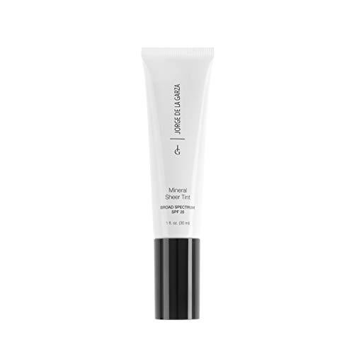 Jorge de la Garza Makeup Mineral Sheer Tint SPF20 Maquillaje natural mineral