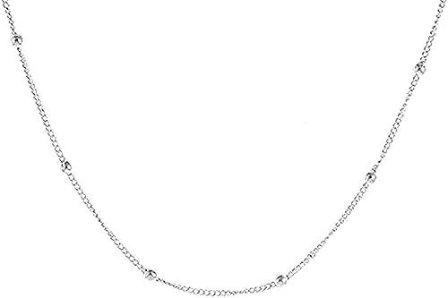 BEISUOSIBYW Co.,Ltd Collar Collar de Mujer Collar de relámpago Rebanada de Color pequeño Lady Locks Joyas Chicas Corbata de aleación de Zinc