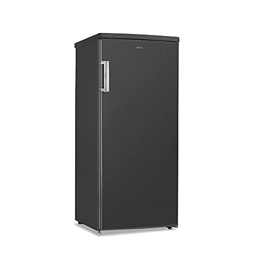 CHiQ congélateur armoire FSD140D42 140L noir Acier inoxydable, portes réversibles, 41 db, 12 ans de garantie sur le compresseur