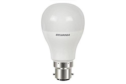 Sylvania SYL0026675 Ampoule Toledo GLS V2 8,5 watts-806 lumens-culot B22 Boite, Aluminium, B22d, 10 W, Blanc