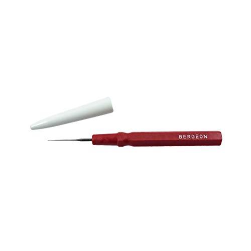 Bergeon 30102-AR Kleine rode Oiler fijne punt Gereedschap voor Watchmakers 0.15 mm