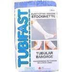 TUBIFAST ELASTICATED VISCOSE STOCKINETTE LARGE 7.5CM X1M BLUE LINE - 1 ROLL 1 METER by...