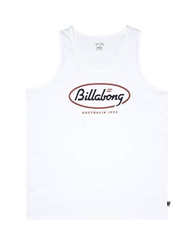 BILLABONG State Beach Tank Tee Shirt Homme, Blanc, XS