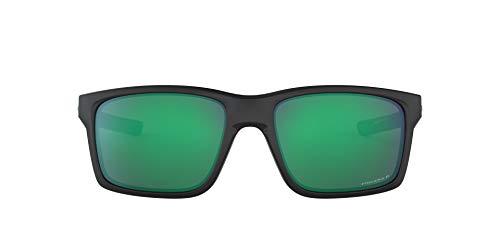 Oakley Mainlink 926434 Occhiali da sole, Nero (Negro), 57 Uomo