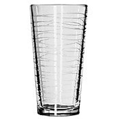 Libbey DuraTuff Wave Casual Cooler Glass, 20 Ounce - 12 per case