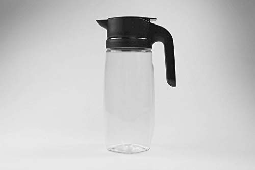 Tupperware Exclusiv TupperTime schwarz 1,7 L Karaffe Milch Sahne Kanne