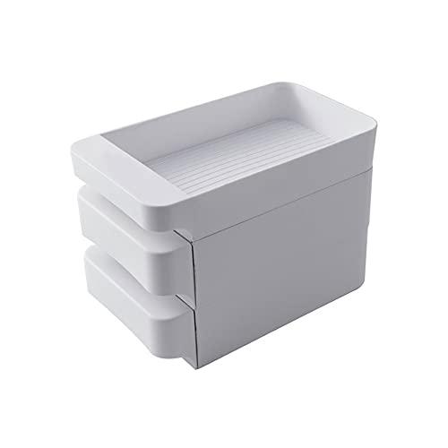 Soporte para huevos, almacenamiento de huevos, caja para huevos soporte para bandeja de huevos, estante de almacenamiento para huevos, organizador de huevos portátil para cocina y nevera