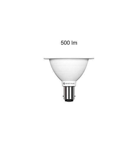 Bombilla reflectora AR70 LED, 7 W, cuerpo de la lámpara AR 70, de aluminio, repuesto para halógenos