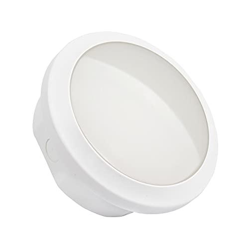 LEDKIA LIGHTING Luz de Emergencia LED Estanca Circular 2W IP65
