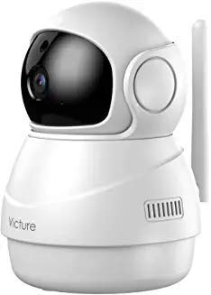 Baby Monitor, Victure 1080P HD Baby Monitor with Camera, Smart Motion Tracking and Sound Detection, 2.4G WiFi Home Security Camera Indoor IP Surveillance Pet Camera with Night Vision, 2-Way Audio